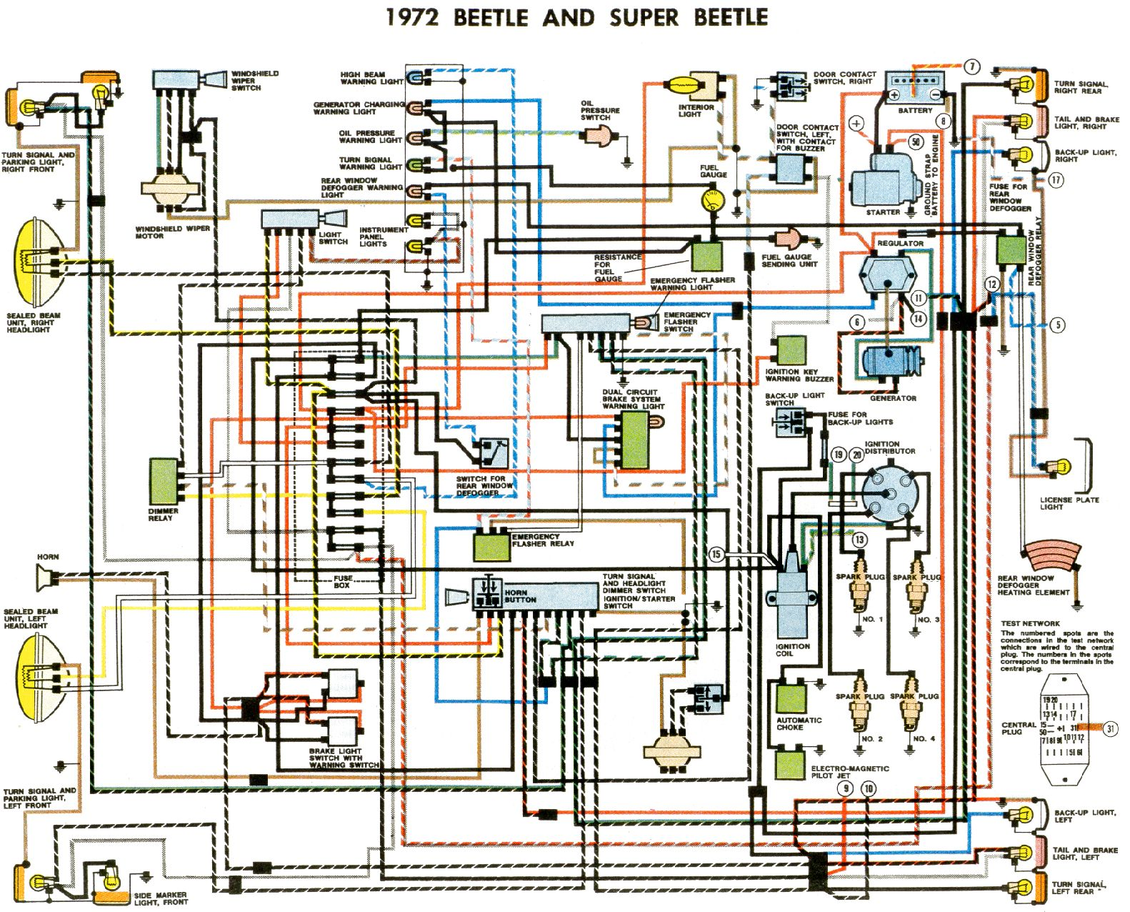 Volkswagen Beetle Fuse Box Diagram furthermore Chevelle Sbc 350 Ignition Wiring moreover Venkataraju project moreover 72 Super Beetle Alternator Wiring Diagram additionally 290108 Anyone Care Validate My Mustang Headlight Switch Wiring. on 1969 vw beetle wiring diagram
